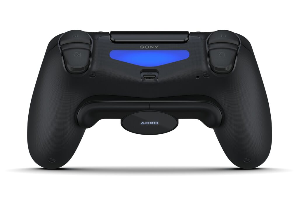 sony dualshock 4 gets back button attachment