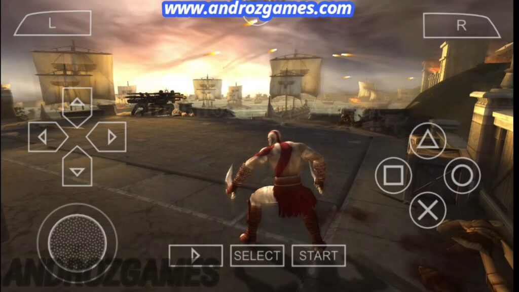 God of War Chain of Olympus PPSSPP Highly Compressed