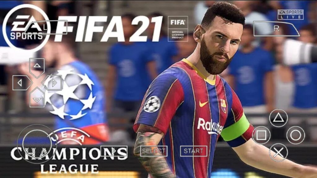 FIFA 21 PPSSPP Android Game Download