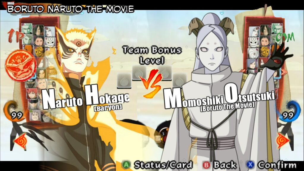 Naruto Storm For Android PSP